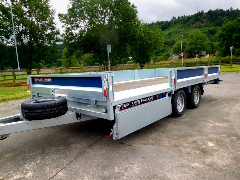 CarGo Connect 475-5452 5.0M X 2.07M Bed Trailer Brian James