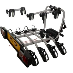 Witter Clamp-On Towball Mounted 4 Bike Cycle Carrier